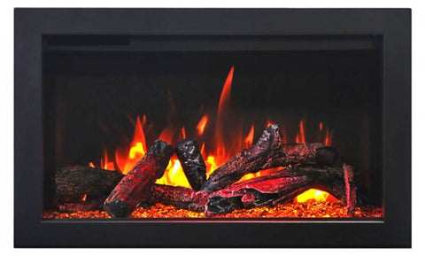 "Amantii 33"" TRD Electric Fireplace Logs"