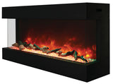 Amantii 50-TRU-VIEW-XL - Indoor/Outdoor 3-Sided-Electric-Fireplace