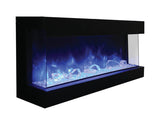 Amantii 60-TRU-VIEW-XL - Indoor/Outdoor 3-Sided-Electric-Fireplace