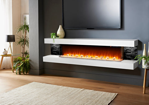Evolution Fires Vegas 96 Electric Fireplace Wall Mount