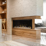 "Dimplex IgniteXL Bold 60"" Wooden wall built-in Linear Electric Fireplace - XLF6017-XD"
