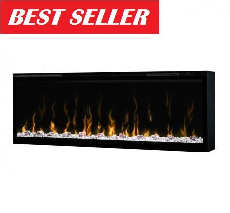 "Dimplex Ignite XL 50"" Electric Fireplace XLF50 Wall Mount Linear"