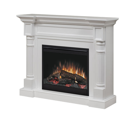 Dimplex Winston Mantel Package in White - DFP26-1109W