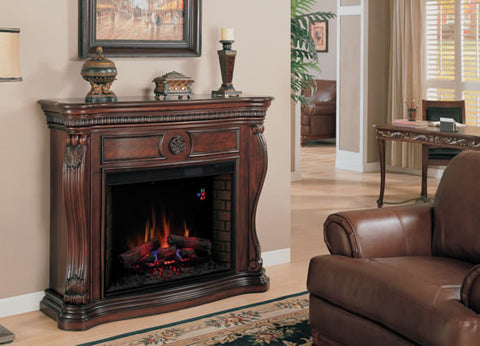 Classic Flame Lexington Electric Fireplace Mantel