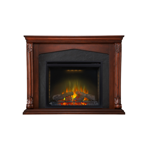 Napoleon Monroe Electric Fireplace Mantel Package in Burnished Walnut - NEFP33-0314BW