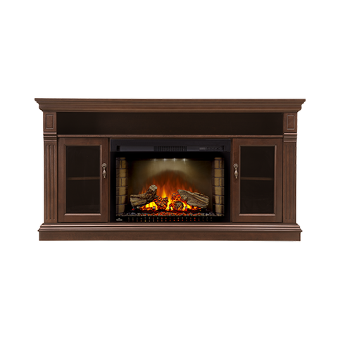 Napoleon Canterbury Electric Fireplace Media Console in Espresso - NEFP29-1415E