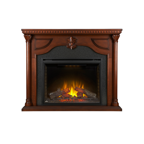 Napoleon Aden Electric Fireplace Mantel Package in Cherry - NEFP40-0714C
