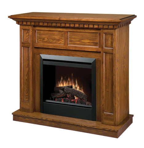 Dimplex Caprice Electric Fireplace Mantel Package in Oak DFP4743O