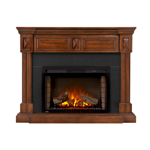 Napoleon Braxton Electric Fireplace Mantel Package in Burnished Walnut - NEFP29-1215BW