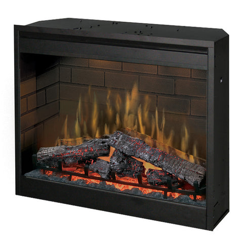 "Dimplex 30"" Plug-in Self-Trimming Traditional Electric Fireplace Insert - DF3015"