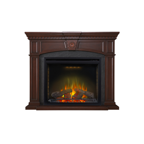 Napoleon Harlow Electric Fireplace Mantel Package in Mahogany - NEFP33-0114M