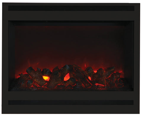 ZECL-31-3228-STL-SQR Zero Clearance Electric Fireplace Amantii