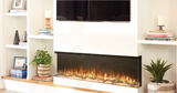 "Napoleon TriVista 60"" Electric Fireplace Recessed Wall Mount - NEFB60H-3SV"