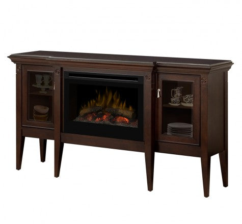 Dimplex Upton Electric Fireplace Mantel Package Log set GDS25-1253E