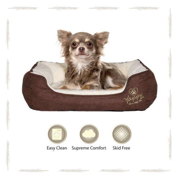 Yappy Roxy Small Dog Bed To Suit Chihuahua