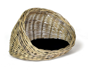 Woofers Wicker Cat Bed Basket - Dog Nappers Dog Beds