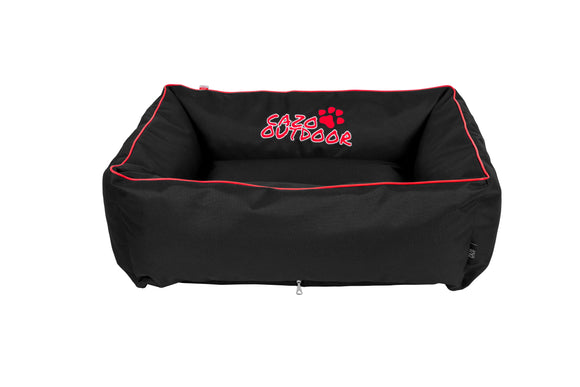 Cazo Maxy Dog Bed | Black - Dog Nappers Dog Beds