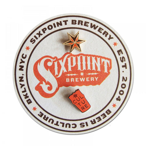 Sixpoint Pins - Set of 2