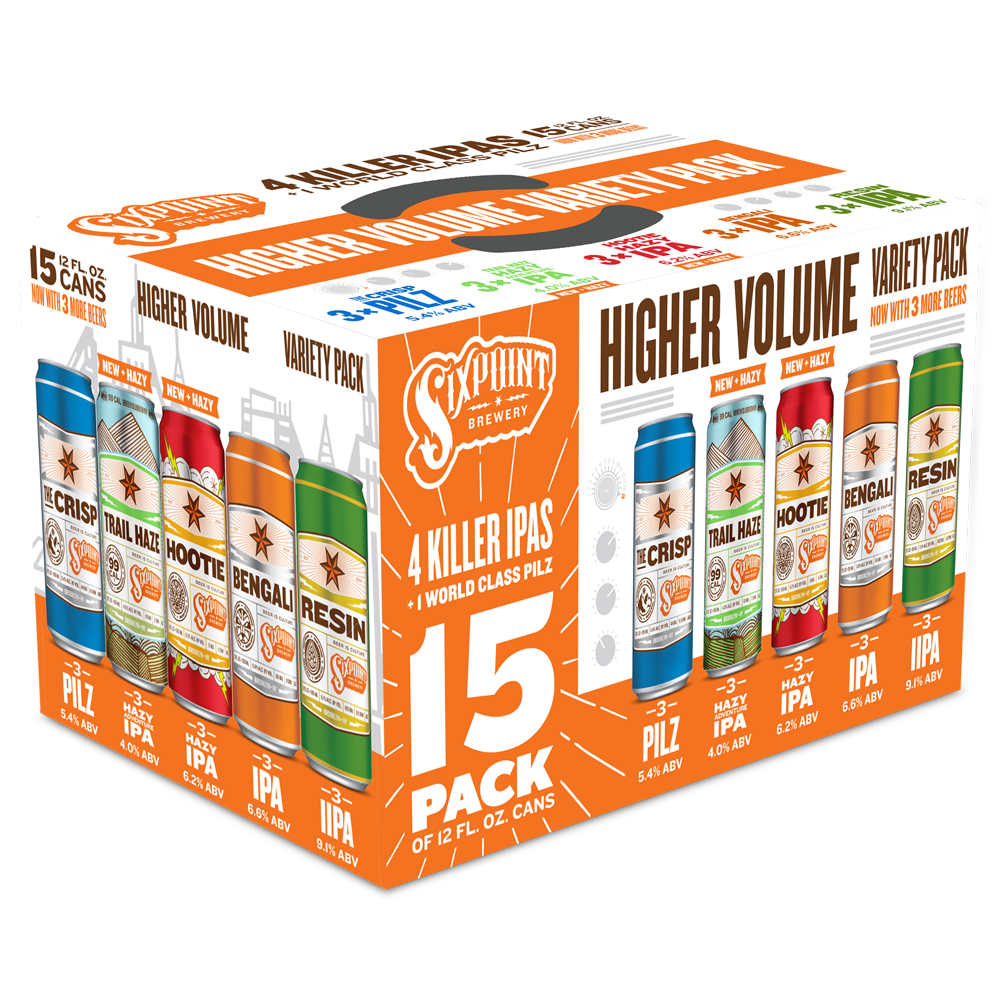 Sixpoint Higher Volume 15 Pack