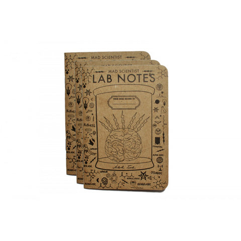 Sixpoint Lab Notebooks (3 Pack)