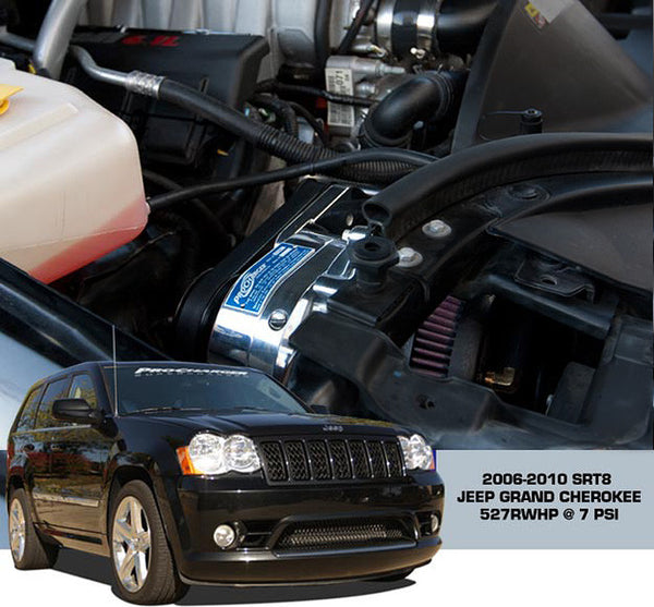 2006-10 Jeep Grand Cherokee SRT8 (6.1) 1DJ204-SCI High Output Intercooled TUNER KIT with P-1SC-1