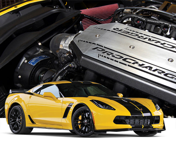 2015-16 Chevrolet Corvette C7 Z06 LT4 1GU204-SCI High Output Intercooled TUNER KIT with P-1SC-1