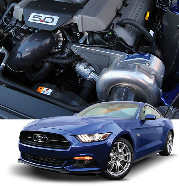 High Output Intercooled SYSTEM with P-1SC-1 2017-15 Mustang GT (5.0 4V)