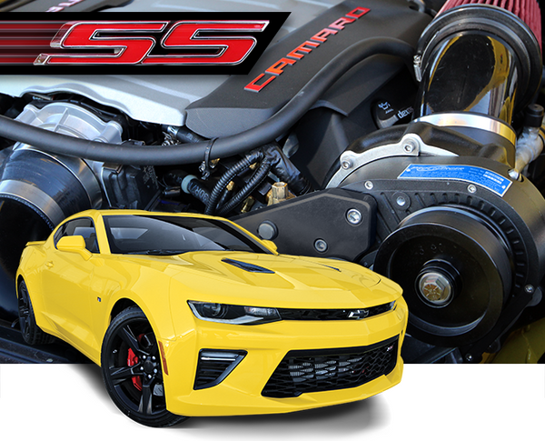 2017-16 Camaro SS (LT1) High Output Intercooled SYSTEM with P-1SC-1