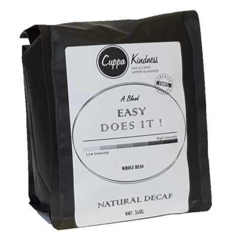 Easy Does It!  Naturally Decaffeinated Coffee (Regular Coffee)