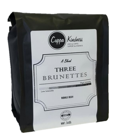 Three Brunettes, Fresh Roasted,  Medium Intensity (Regular Coffee)
