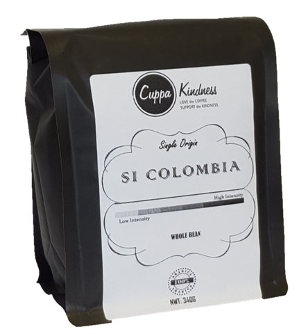 Si Colombia !  Low to Medium Intensity (Regular Coffee)