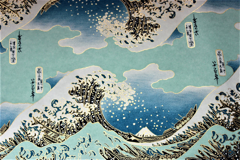 The Great Wave Washi Paper