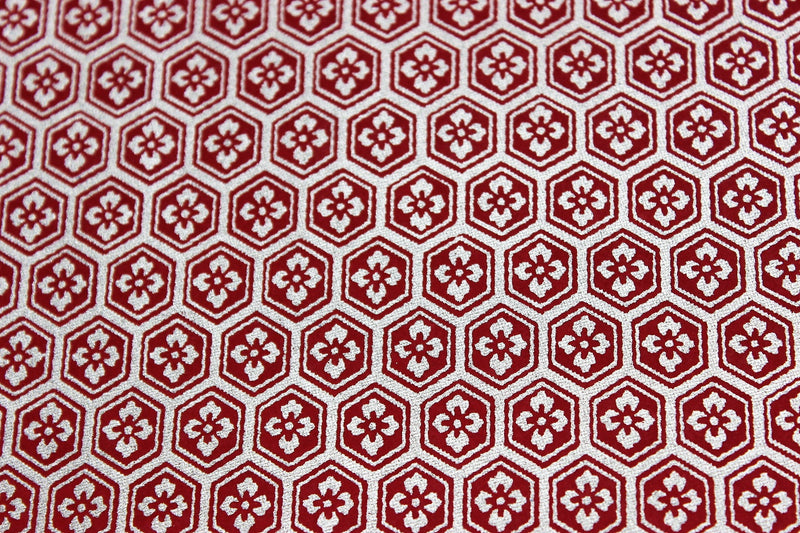 Red and Gold Kikkou washi paper