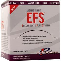 Buy 1st Endurance, EFS Liquid Shot, Mountain Huckleberry 6 unit at Herbal Bless Supplement Store