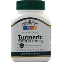 Buy 21st Century, Turmeric Complex (500mg), 60 vcaps at Herbal Bless Supplement Store