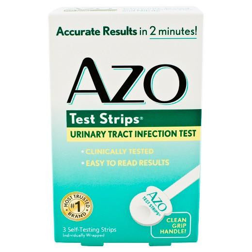 Buy 3ct AZO, test strips urinary tract infection test at Herbal Bless Supplement Store