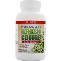 Buy Absolute Nutrition, Absolute Green Coffee Bean Extract, 60 caps at Herbal Bless Supplement Store