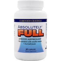 Buy Absolute Nutrition, Absolutely Full - Appetite Suppressant, 60 caps