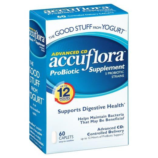 Buy Accuflora™, Probiotic Supplement Caplets - 60 Count at Herbal Bless Supplement Store