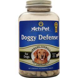 Buy Actipet, Doggy Defense Immune Formula, Natural Liver Flavor, 90 chews at Herbal Bless Supplement Store