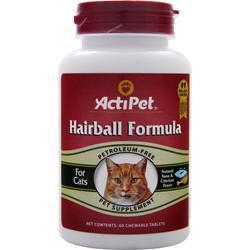 Buy Actipet, Hairball Formula, Natural Tuna & Chicken, 60 tabs at Herbal Bless Supplement Store
