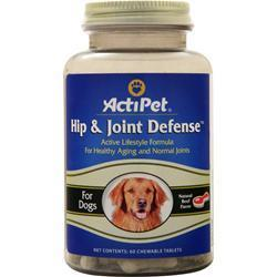 Buy Actipet, Hip & Joint Defense, Natural Beef Flavor, 60 chews at Herbal Bless Supplement Store