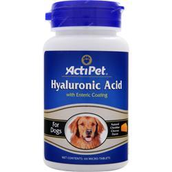 Buy Actipet, Hyaluronic Acid, 60 tabs at Herbal Bless Supplement Store