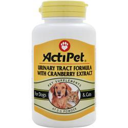 Buy Actipet, Urinary Tract Formula with Cranberry Extract, 67.5 grams at Herbal Bless Supplement Store