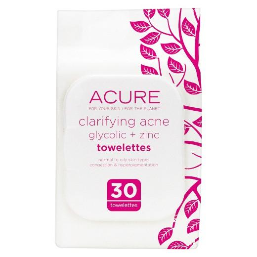 Buy Acure, Clarifying Acne Towelettes 30 ct at Herbal Bless Supplement Store