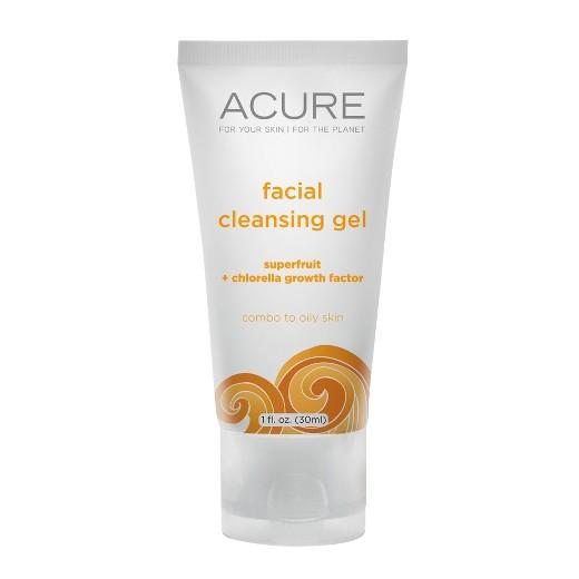 Buy Acure, Facial Cleansing Gel 1 oz at Herbal Bless Supplement Store