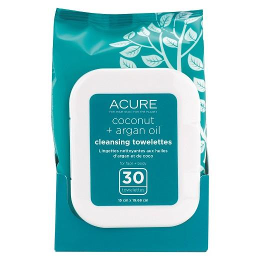 Buy Acure Organics, Coconut + Argan Oil Cleansing Towelettes - 30 Ct at Herbal Bless Supplement Store