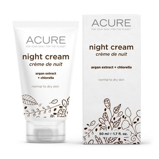 Buy Acure Organics, Night Cream Argan Stem Cell + 2% CGF - 1.75 oz at Herbal Bless Supplement Store