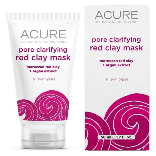 Buy Acure, Pore Clarifying Red Clay Mask - 1.75oz at Herbal Bless Supplement Store