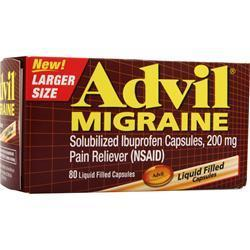Buy Advil, Advil Migraine, 80 lcaps at Herbal Bless Supplement Store